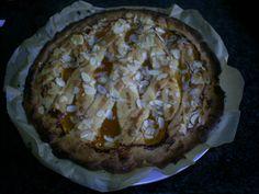 Zelfgemaakte abrikozen-linzen vla