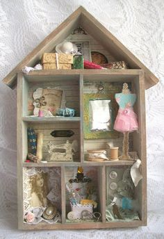 Viv's Visuals : A Visit to Grandma's House - Shabby Chic - Crafty Cardmakers DT