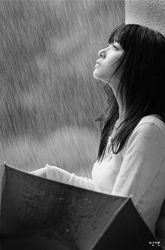 Novice: Do I miss Rains? Stop The Rain, I Love Rain, Sound Of Rain, Singing In The Rain, Gifs, Avatar Manga, Rainy Day Pictures, Image Couple, Portraits