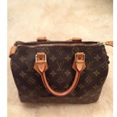 Louis Vuitton Handbag (Dark Brown)