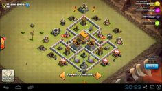 Pertahanan War Basse Clash of Clans TH 5 - Tips Trik Android