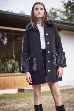 adc455c4d5 Coats by Maje are the promise of a cosy winter. Fine cuts and beautiful  materials