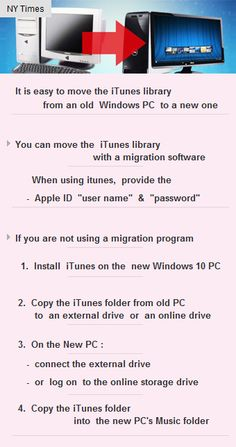 #iTunes library easy move,old to new #Windows10 PC  #music #tech #vc #fundings #startupchats http://arzillion.com/S/a95sgR