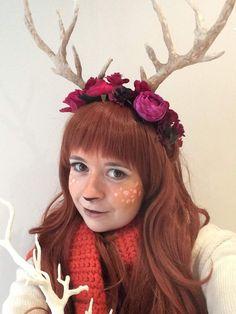 DIY Deer Antler Headdress- Cheap and Easy! | Cosplay Amino