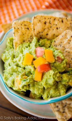 The BEST guacamole I've ever had - we make it on a weekly basis!