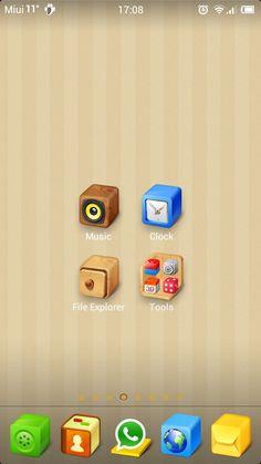 Qubic – Miui Theme Music Clock, Usb Flash Drive, Usb Drive