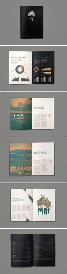 Newline Energy by Gisela Beer #editorial #graphic #design #inspiration #publication #annual #report giselabeer.com