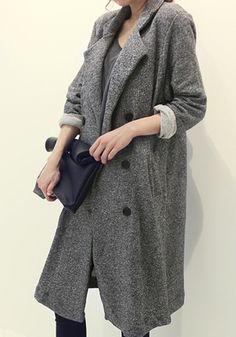 Grey Plain Pockets Notch Lapel Cotton Blend Suit