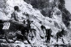 Mit dem motorrad uber den wolken, 1926
