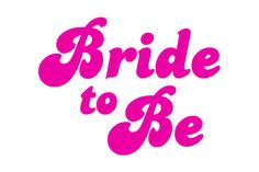 Bride to Be IronOn Transfer by onscreengraphics on Etsy, £2.00