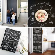 Chalkboard wall decor gifts for boys