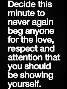 I should take this advice.