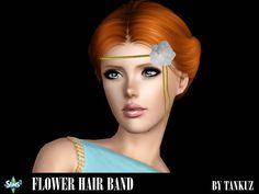 Flower Hair band by Tankuz