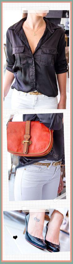 Bendito Look - preto e branco - Bendita Inspiração #look #preto #branco #lookdodia #lookoftheday #style #fashion #moda