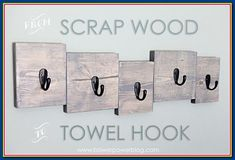 The person who loveswoodworkingwanted to try more creativity fromwood. The...,  #Creativity #fromwood #loveswoodworkingwanted #person #towelhangerdiyprojects Diy Projects Bathroom, Diy Bathroom Remodel, Towel Holder Bathroom, Bathroom Towels, Bathroom Signs, Bathroom Storage, Towel Hanger, Towel Hooks, Coat Hanger