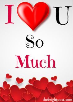 I love You So Much status  animated Pics