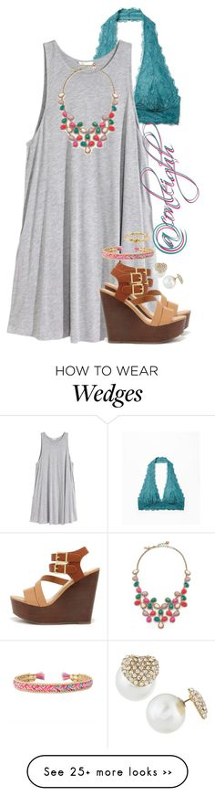 """Everyone go follow @conleighh(read d)"" by anna-watson00 on Polyvore featuring Free People, H&M, Stella & Dot, Bamboo, Fragments and Kate Spade"