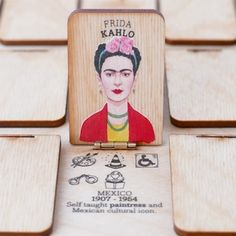 Playeress collecte des fonds sur Kickstarter pour son projet WHO'S SHE? - a guessing game about extraordinary women! A wooden guessing game featuring strong, mighty women. It's all about their adventures not their looks! Made to inspire.