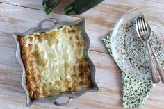 Gratin de courgettes aux ravioles French Toast, Veggies, Bread, Breakfast, Food, Ravioli, Tomato Pie, Zucchini Gratin, Bergamot Orange