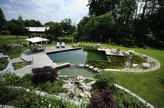 Ein Schwimmteich im Garten braucht recht viel Platz. (Quelle: dpa\ Schleitzer, Gärtner von Eden)