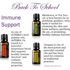 BACK TO SCHOOL #1 -- Immune Support - you know it! Runny noses coughs flu -- your kids bring home all those germs! So how can we help support our kids (and us!) from getting sick all winter long! These three oils are powerhouses when it comes to immune system support. How should I use them? Diffuse 2-3 drops of each in your home. Rub 1 drop of each along the spine and feet (great to do just before bed!). Dilute with a carrier oil like fractionated coconut oil for small children and to reduce…