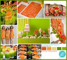 Lime Green  Orange  and White Wedding Inspiration BoardFuchsia pink  orange and lime green wedding color scheme   Wedding  . Orange And Lime Green Wedding Theme. Home Design Ideas