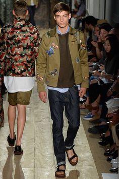 Valentino - Spring 2015 Menswear