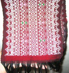 Vintage weaving wide belt or table runner backstrap loom size by sweetalicelovesyou on Etsy