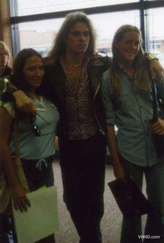 Van Halen record in-store appearance 1978