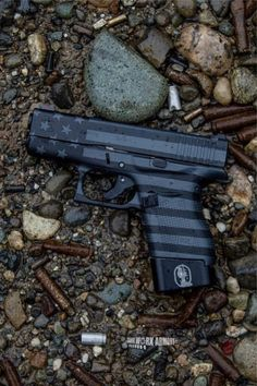 Custom Glocks That Are Modded To The Max How sick is this custom glock? Check out the entire list of 25 more!How sick is this custom glock? Check out the entire list of 25 more! Hidden Weapons, Weapons Guns, Guns And Ammo, Custom Glock, Custom Guns, Glock Mods, Best Handguns, Tactical Accessories, Shooting Guns