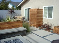 Find This Pin And More On Curb And Outdoor Spaces. Outdoor Shower Enclosure  Ideas Feature Fantastic Garden ...