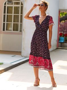 MID-SUMMER 2019 Ruffle Hem Dress