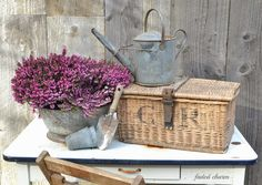 Faded Charm: ~Heather~Love this basket...