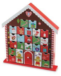 Wooden House Advent Calendar, Candy House, Holiday Fun, Holiday Decor, Marianne Design, Christmas Crafts, Christmas Ideas, Xmas Cards, Card Ideas