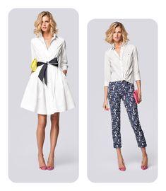 ropa para mujeres triángulo invertido - Buscar con Google                                                                                                                                                     Más