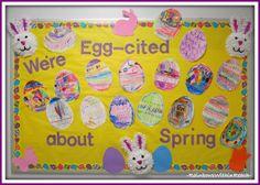 preschool spring bulletin boards | Spring Bulletin Boards For Preschool