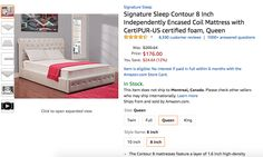 sealy mattress em720sjl latex 21599 deal pinterest - Cyber Monday Mattress Deals