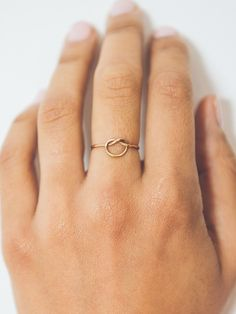A sweet and simple everyday ring. It makes a great romantic gift, or treat for yourself! - Choose sterling silver or 14kt gold filled. - Handmade in the USA. - In-stock are shown here, but these can b #jewelryringsgifts #StockMarketTips