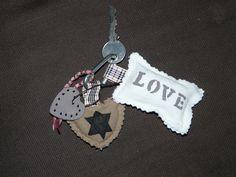 Porte clés amour