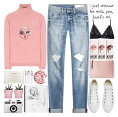 """""""purity"""" by sophieelise97 ❤ liked on Polyvore featuring Shrimps, rag & bone, Converse, Eberjey, Holga, Dot & Bo, Love Quotes Scarves, philosophy and Cath Kidston"""