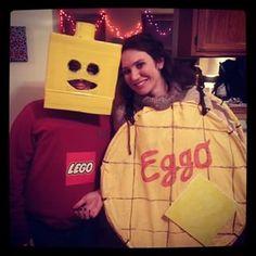 lego my eggo cute halloween costumespun