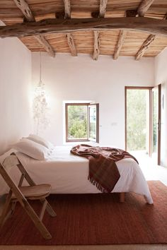 <p>Isolated on more than 10.000 sqm of land and offering a beautiful views of the sea and the sunset every night, this rustic home on the island of Ibiza is now available rent through Welcome Beyond.
