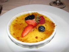 Vanilla Crème Brulee from Carnival Cruise