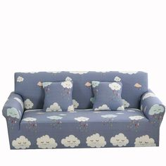 ... Removable Machine Washable Slipcovers. Universal Stretch Sofa Covers  For Living Room Multi Size Cloud Pattern Elastic Couch Sofa Slipcovers