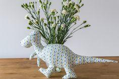 Dinozaur - przytulanka ręcznie szyta, maskotka dla dziecka / Handmade dinosaur, sewing