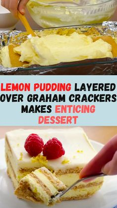 Lemon Dessert Recipes, Lemon Recipes, Sweet Desserts, Easy Desserts, Sweet Recipes, Baking Recipes, Delicious Desserts, Cake Recipes, Yummy Food