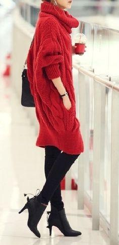 It's like wearing a comfy blanket :)