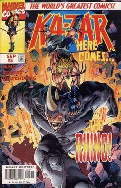 Ka-Zar Vol 4 5 - Marvel Database - Wikia
