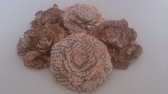 Papierblumen-Shabby von Creativity of Soul auf DaWanda.com