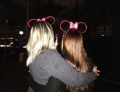 Chloe Moretz and Meghan Trainor in Disneyland! Cute